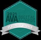 2021 AVA Digital Awards Platinum Winner